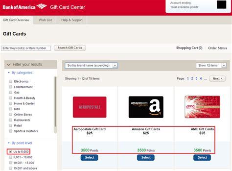 Can You Deposit Gift Cards Into Your Bank Account - how to redeem bank of america worldpoints travel rewards