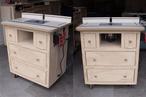 router bench plans 8 free diy router table plans you can use right now