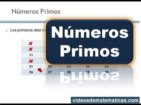 Imprimir Los 10 Primeros Numeros Primos Youtube | los diez primeros n 250 meros primos youtube