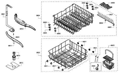 kenmore elite parts rack assy diagram parts list for model 63077933010 kenmore elite parts dishwasher parts