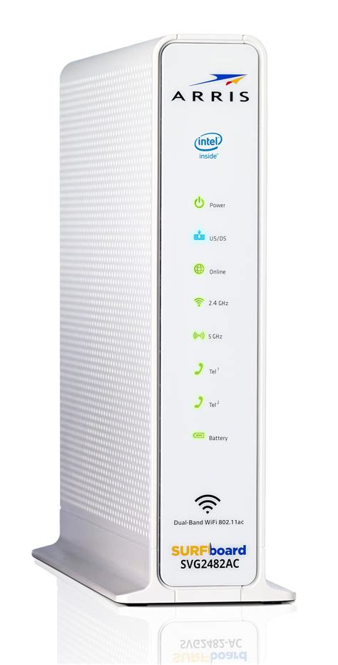 arris surfboard svg2482ac docsis 30 cable modem wifi