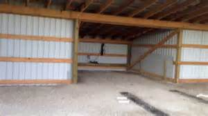 Barn Garage Designs how to build a cheap hangar or pole barn youtube