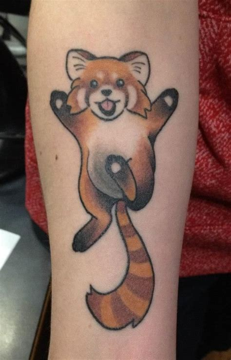 red panda tattoo panda tattoos
