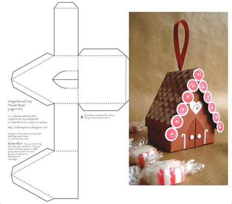 printable gingerbread house cutouts paper house template 19 free pdf documents download
