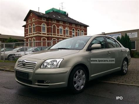 how make cars 2005 toyota camry transmission control 2005 toyota avensis 2 0 vvt i automatic transmission climate control euro4 wr car photo and