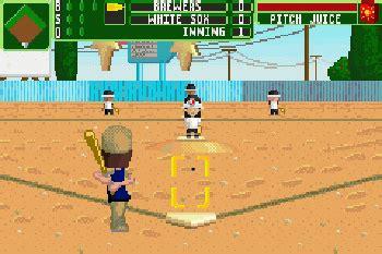Backyard Baseball Real Backyard Baseball 2006 Symbian Backyard Baseball