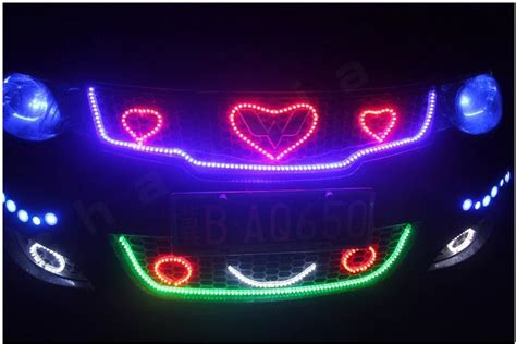 led light strips car color led lights kiwi lighting