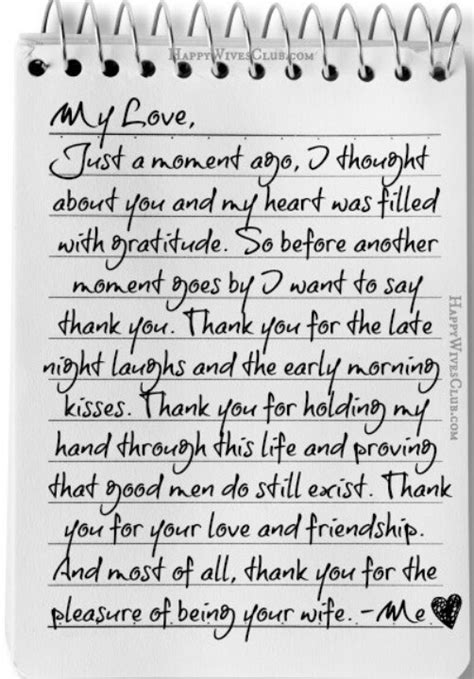 Letter For Husband Letter To Husband For Him