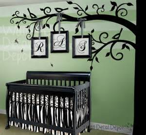 Nursery Wall Tree Decals Tree Wall Decal Modern Nursery Decor Other Metro By Designer Playground