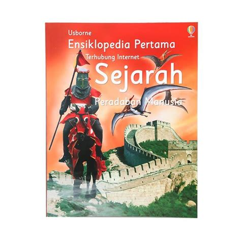 blibli sejarah jual usborne ensiklopedia anak sejarah buku edukasi online