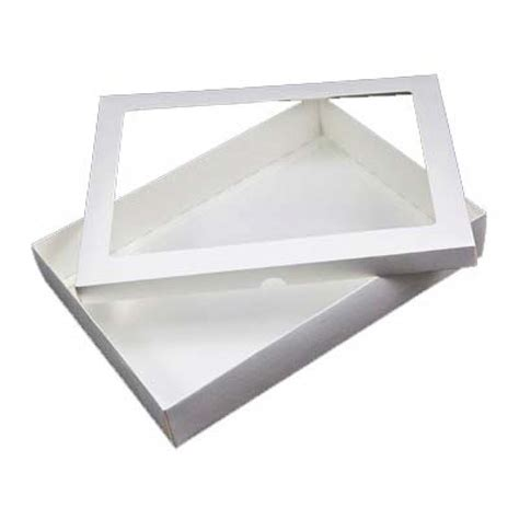 box greeting card template 6 x 10 white keepsake greeting card box with acetate