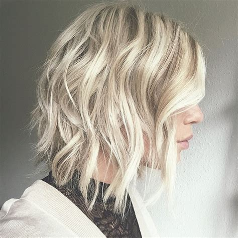 medium wavy hairstyles 2016 21 cute medium length bob hairstyles shoulder length