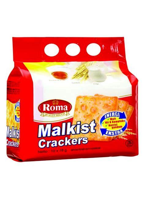 Indofood Kelapa 300g roma crackers malkist bag 8x27g klikindomaret