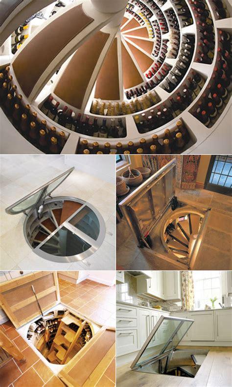 Wine Cellar Spiral Staircase Val S November 2009