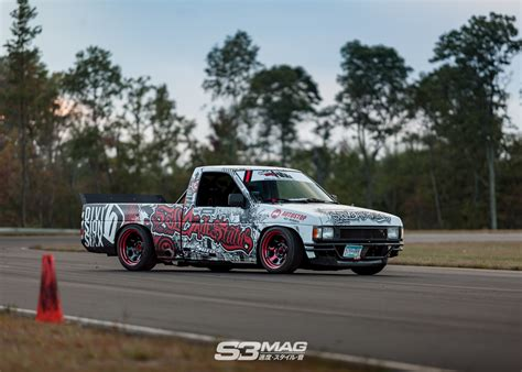 nissan hardbody drift no money no problems alec s nissan hardbody drift truck