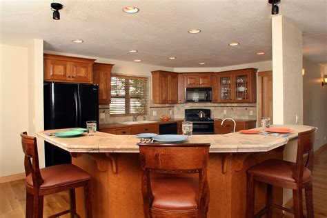 Angled Cabinet Doors - affordable custom cabinets showroom