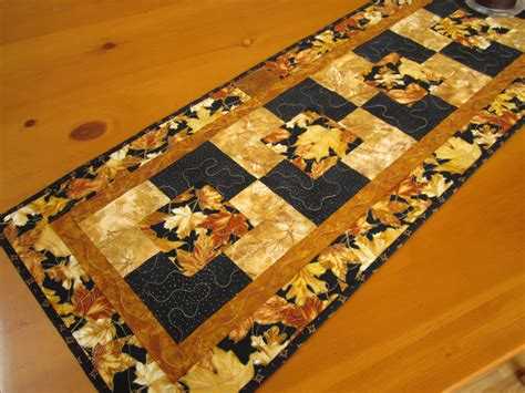 7 Gorgeous Table Runners by Gorgeous Leaves Table Runner On Luulla
