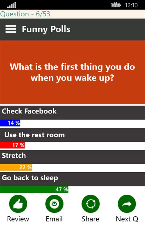 facebook questions for friends create polls get answers funny polls