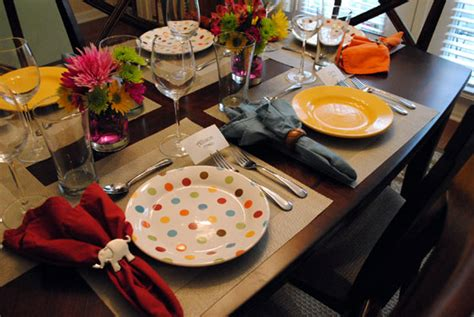 how to set a table taste of home spring dinner party