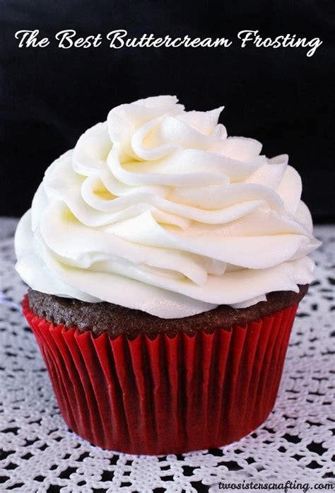What Is The Best Buttercream Icing For Cake Decorating by The Best Buttercream Frosting Two Crafting