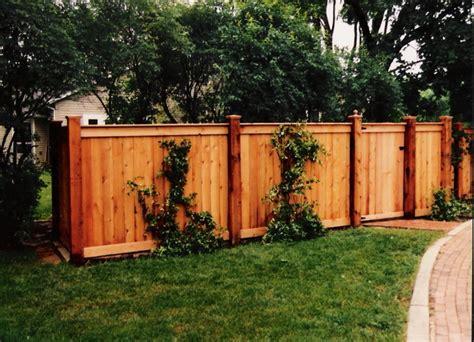 beautiful wood fence