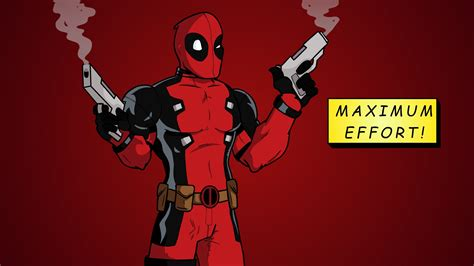 Maximum Effort quot maximum effort quot deadpool speedpaint