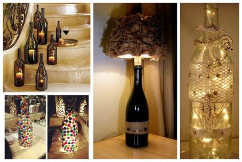 Wine Decorating Ideas by Wine Bottle Decorations Inspirational Ideas Diy Smartly