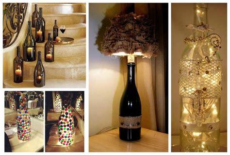 wine bottle decorations inspirational ideas diy smartly