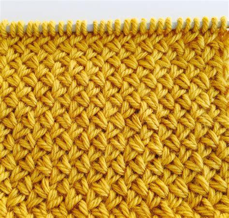 basket stitch in knitting knitting stitch patterns diagonal basket weave le point de