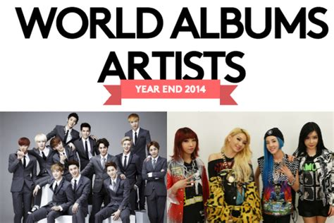 exo billboard exo and 2ne1 chart on billboard s world albums artists of