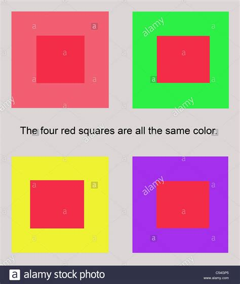 color composition graphic color theory composition showing perception of