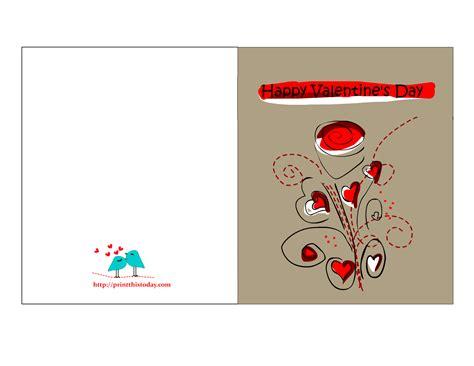 Printable Cards Valentines