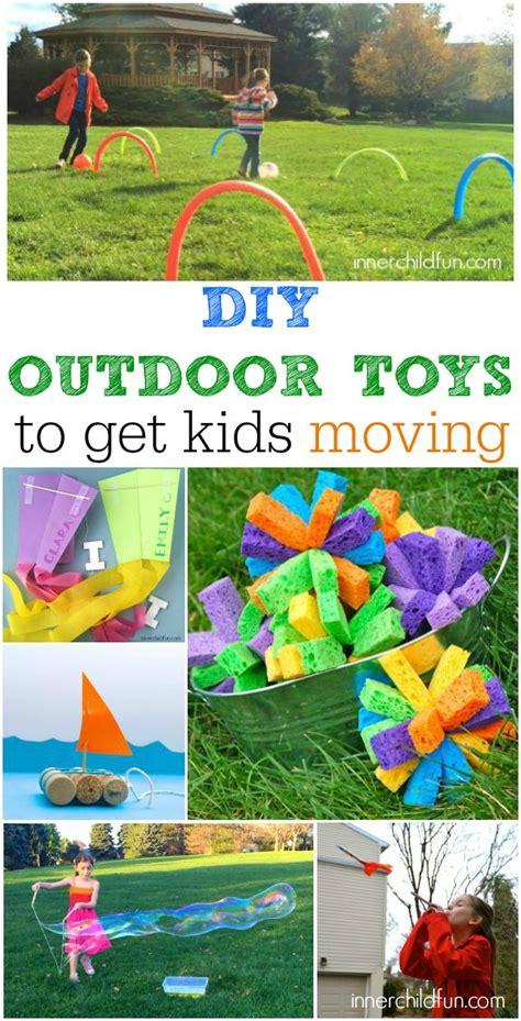 diy backyard toys diy outdoor toys to get kids moving inner child fun