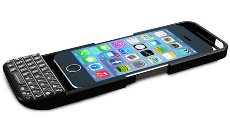 Typo 2 Keyboard Iphone 55sse Black a physical keyboard for the iphone recode