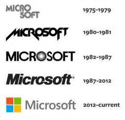 Their operating system windows have both seen many logo iterations