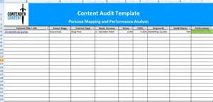Content Audit Template by Business Audit Template Images