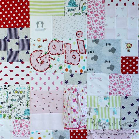 Another Word For Patchwork - personalise your quilt or cushion with a name applique