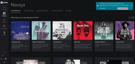 spotify mobile player come funziona spotify tutta la musica in