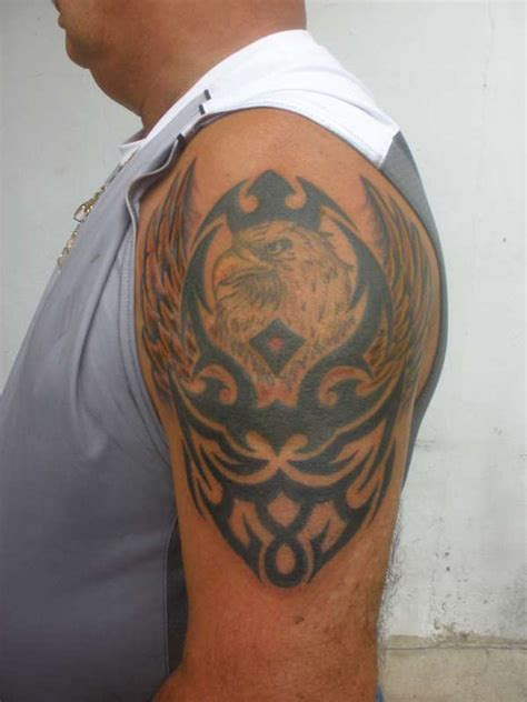 tribal bald eagle tattoos tribal bald eagle tattoos tattoos book 65 000 tattoos
