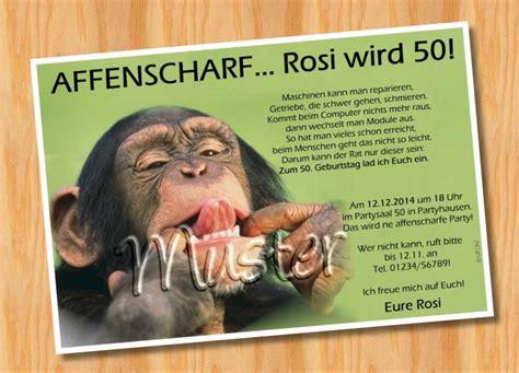 Muster Einladung Zum 60 Geburtstag Einladungskarten Geburtstag Tierische