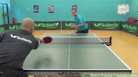 how to play table tennis how to play ping pong table tennis with pictures wikihow