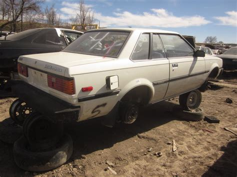 Toyota Finder Junkyard Find 1982 Toyota Corolla Sr5 The About Cars