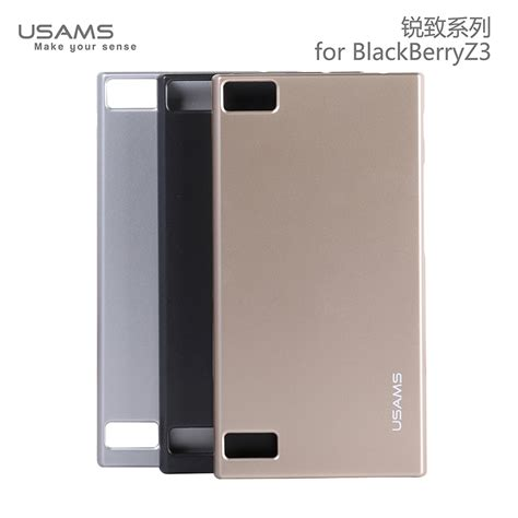 Sarung Bb Z3 usams new soft ultra thin pc cover for blackberry z3