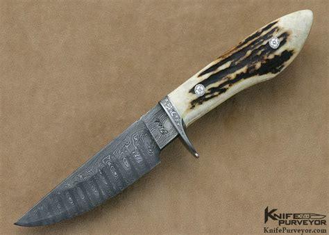 jerry fisk engraved damascus sendero knifepurveyor