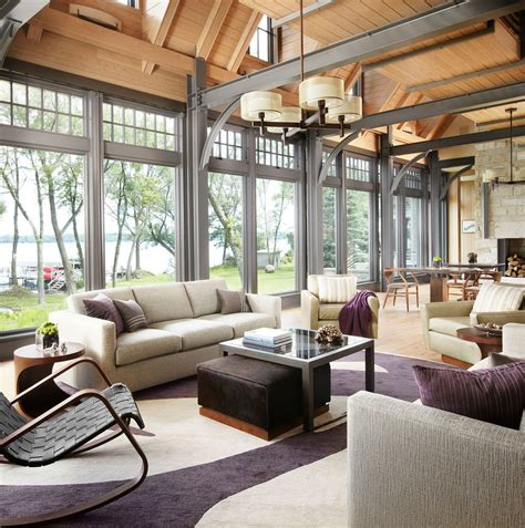 3 Reasons Why You Should Have Floor To Ceiling Windows In Vaulted Ceiling Living Room Design