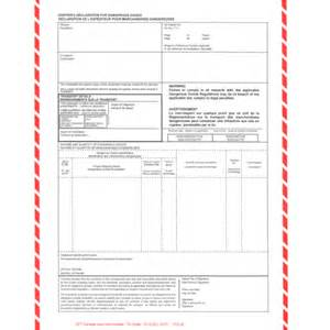 tdg shipping document template shipping forms archives cft canada