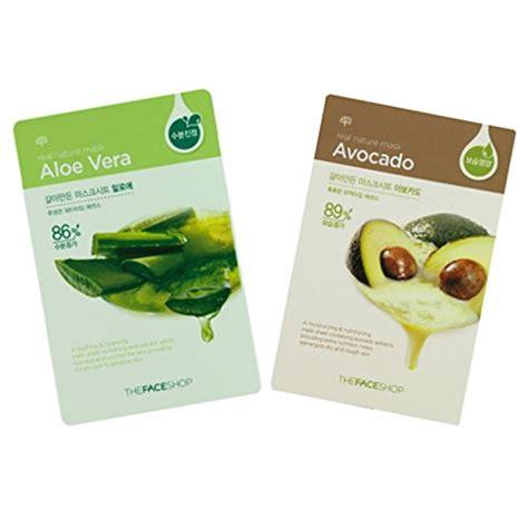 Harga Nature Republic Mask Sheet the shop mask sheet real nature avocado daftar