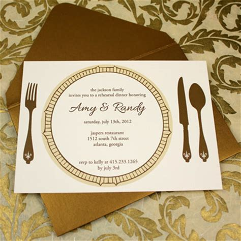 10 best images of dinner invitation template formal