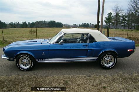 Mustang Auto 1968 by 1968 Mustang Shelby Gt350 Convertible Clone Autos Post