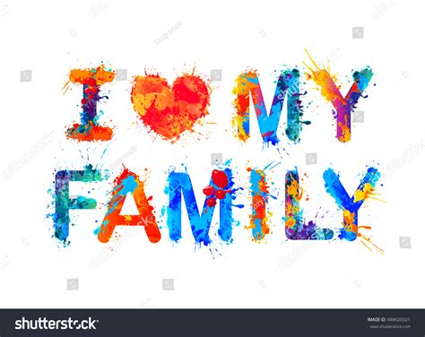 Cute Child by Love My Family Stock Vector 448420321 Shutterstock